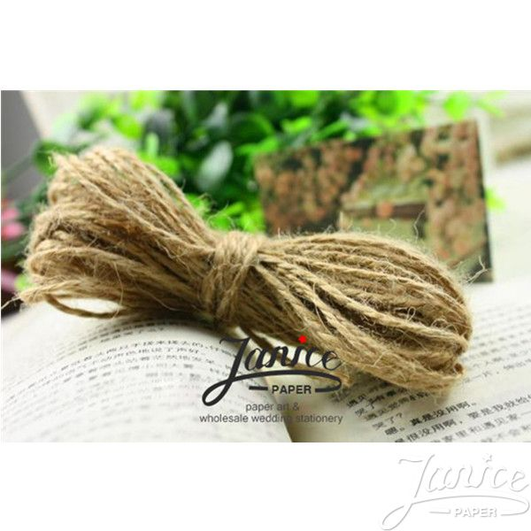 Natural Jute 2mm Twine MS0001