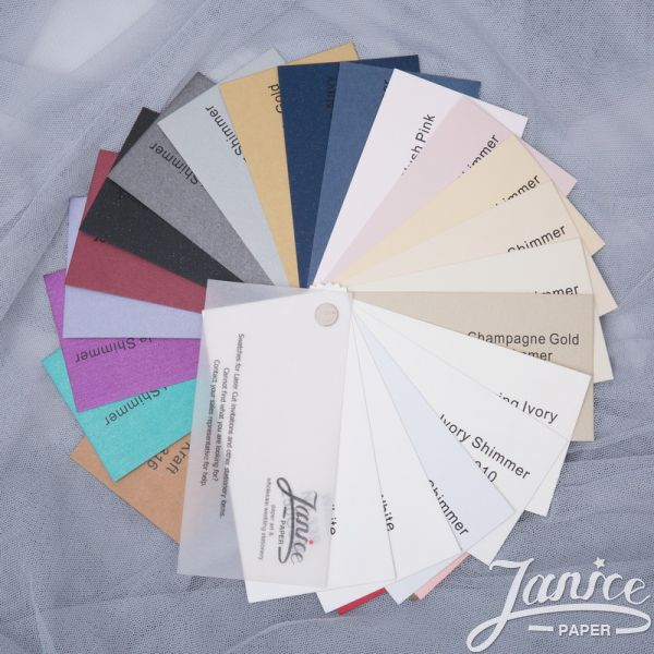 8.5*11 inch Wholesale Shimmer / Matte Paper  WCS0001